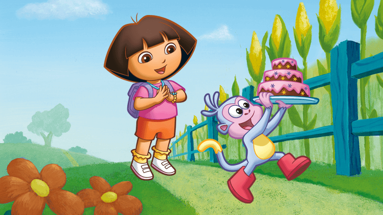 dora and babouche ______ the cookies