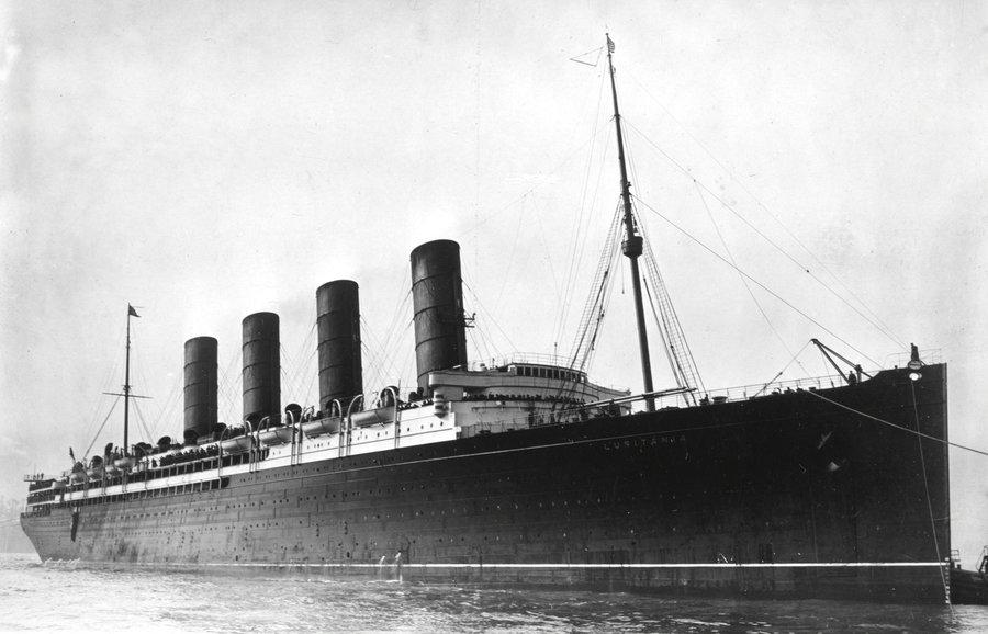 lusitania essays