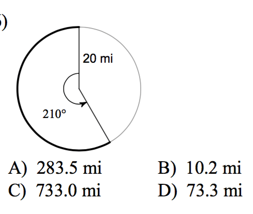 how to find the arc length of a circle