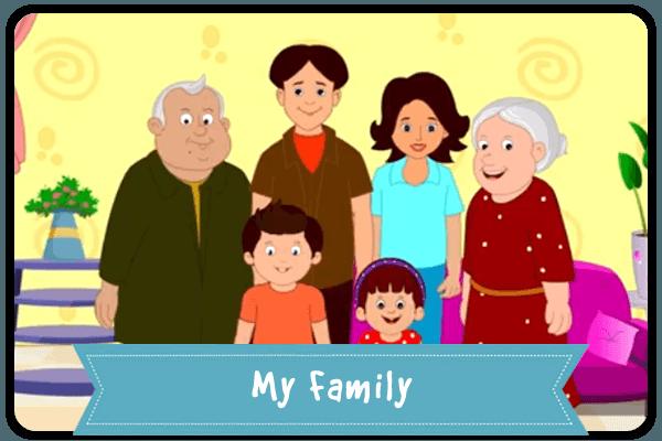 Quizizz Question Set - My Family