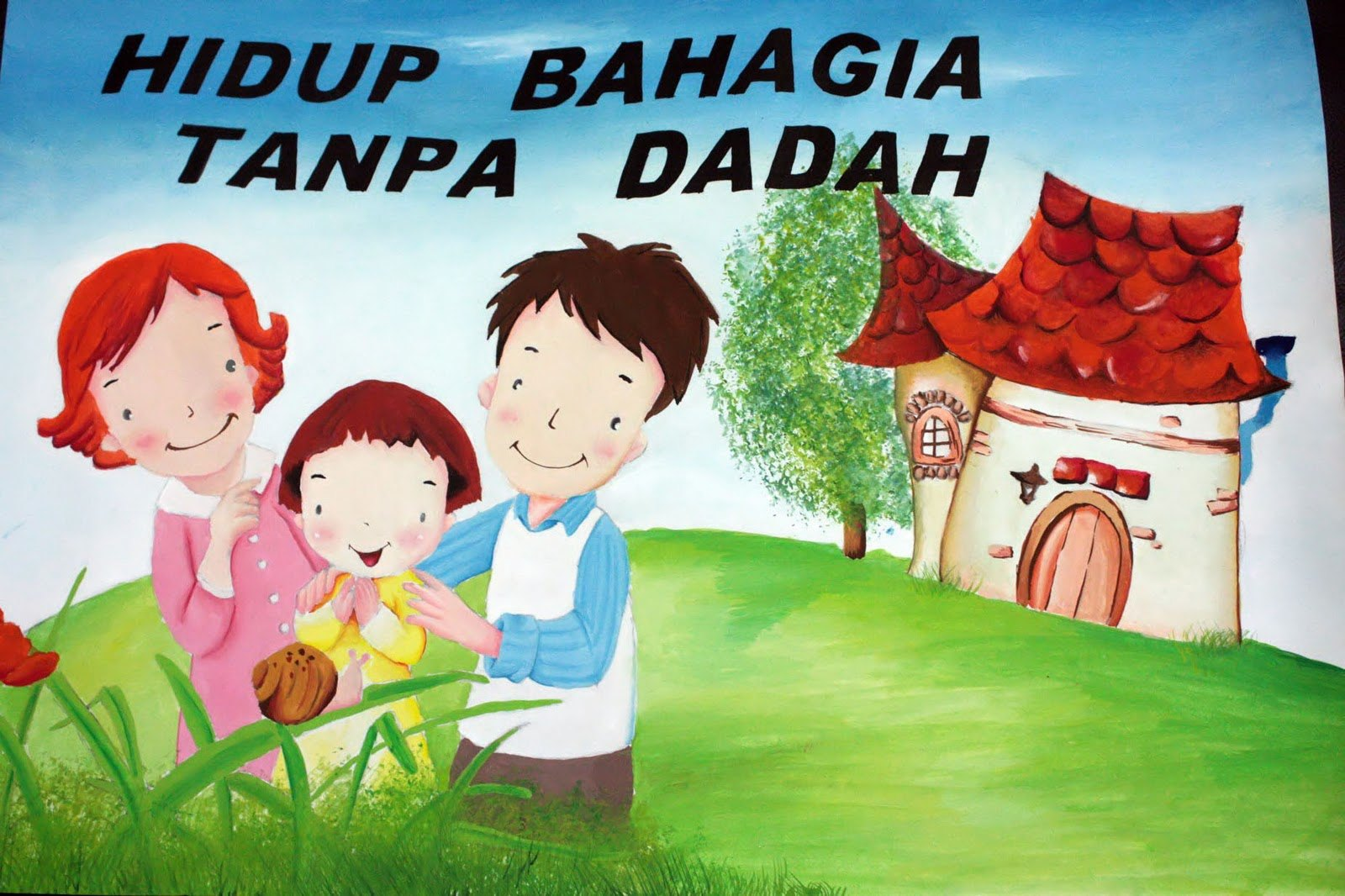Keluarga Bahagia Tanpa Dadah Poster