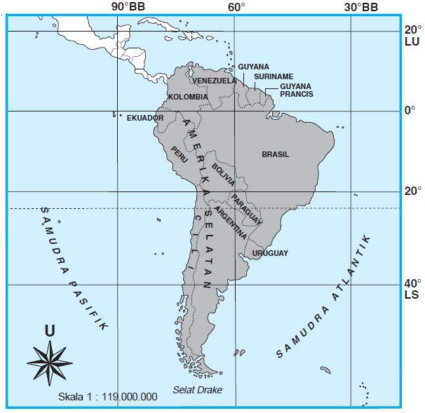 Letak Geografis & Astronomis Benua Amerika Serta Keuntungannya
