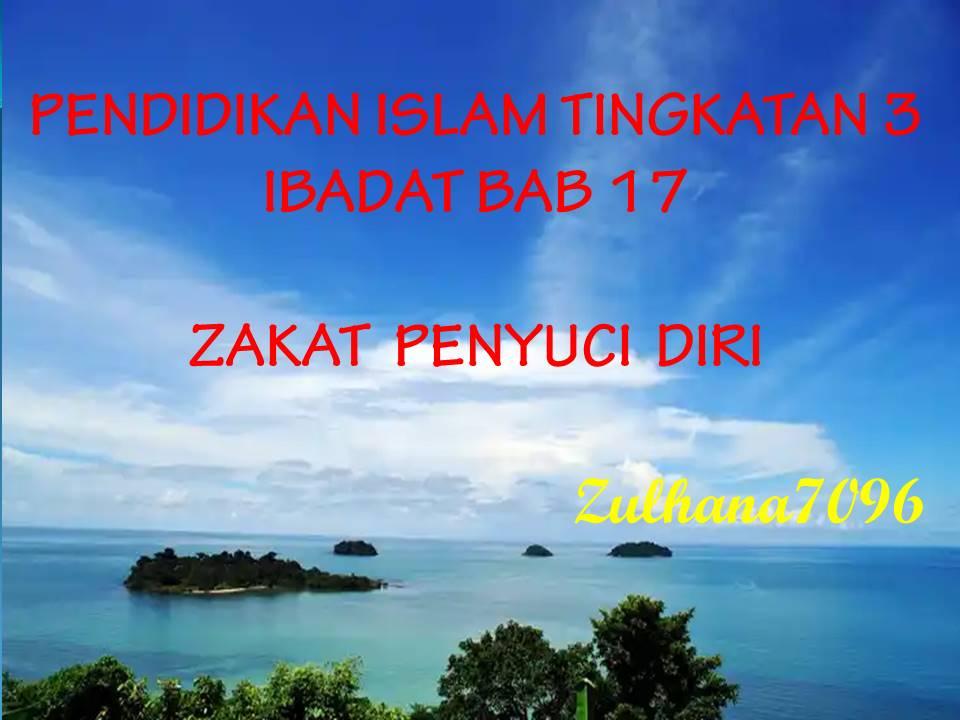 Pendidikan Islam Ting 3 Zakat Ibadat Quiz Quizizz