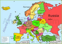Northern And Western Europe Map Quiz Other Quiz Quizizz