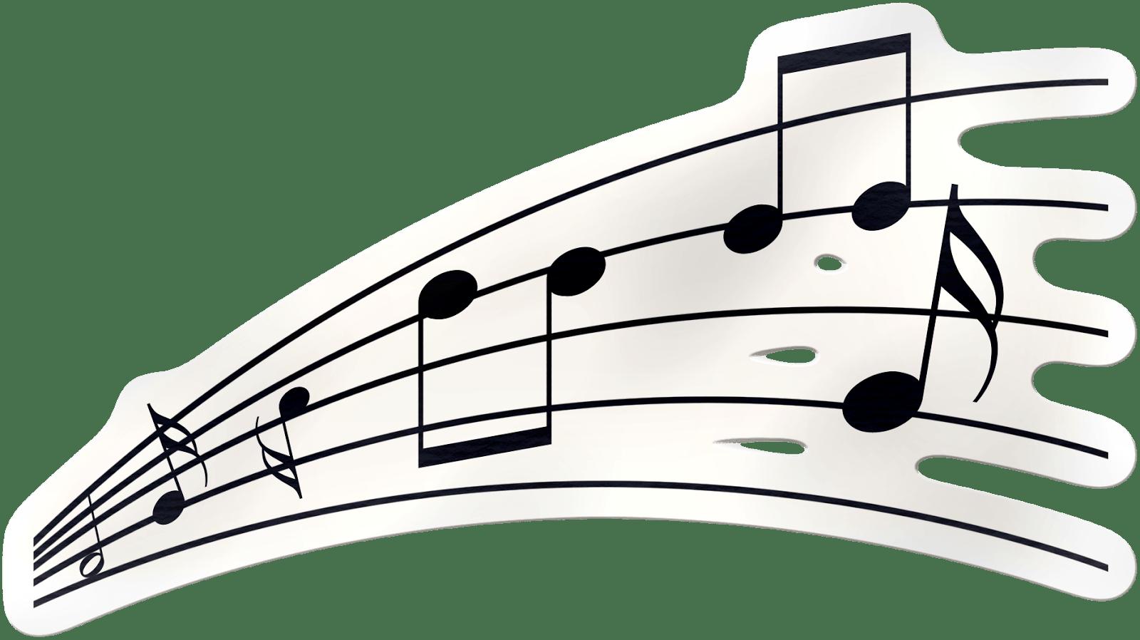 Impresi/óN De Notas Musicales para Adultos SM 1 Pieza