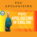 POC Apologizing