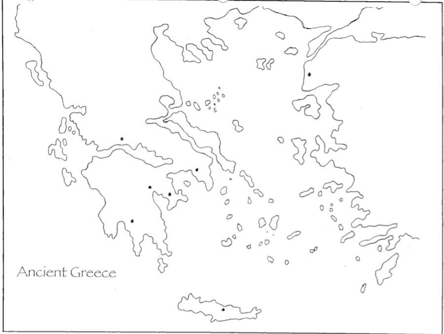 Ancient Greece Map Other Quiz Quizizz