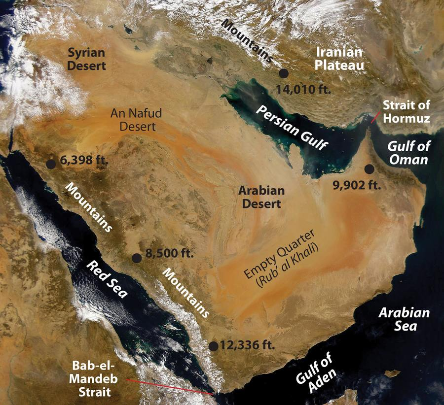 Arabian Peninsula Review 1 | Ancient History Quiz - Quizizz