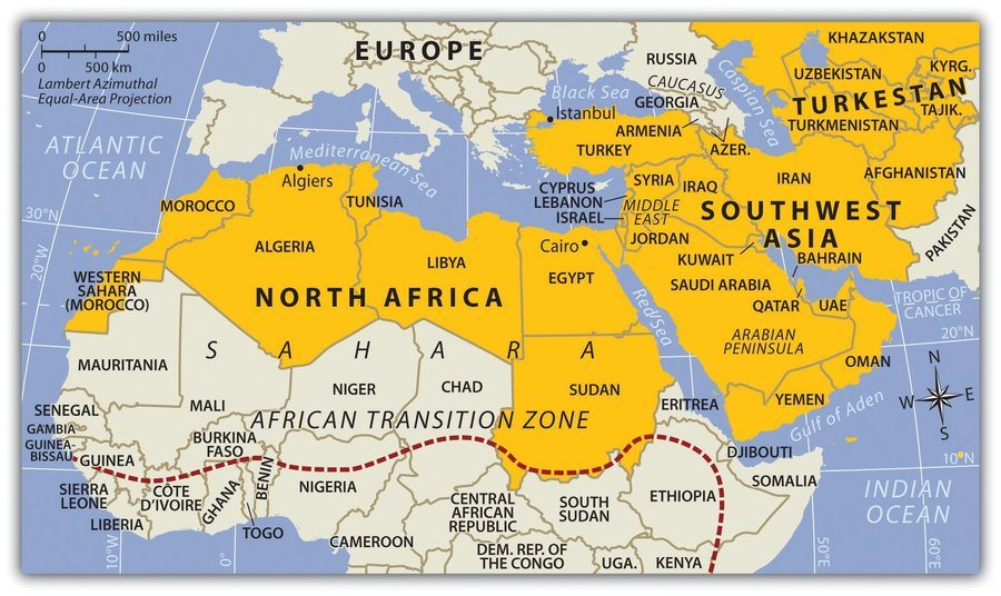 Southwest Asia and North Africa Review Quiz - Quizizz