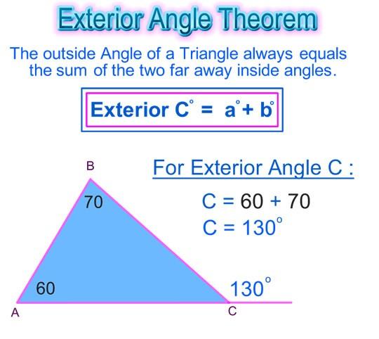 Superior Interior And Exterior Angle QuizDRAFT