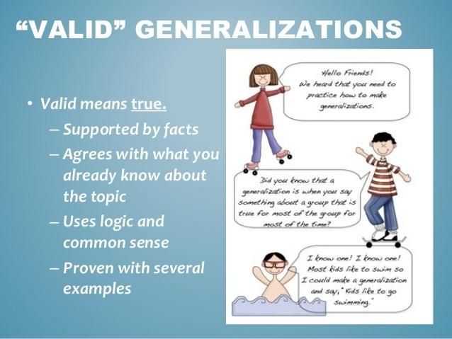 Generalizations | Reading Quiz - Quizizz