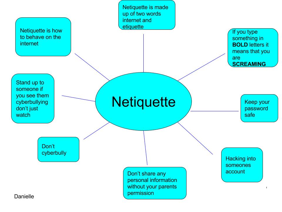 Etiquette internet examples of What is