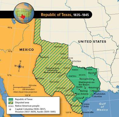 Republic of Texas Chapter Quiz | Government - Quizizz