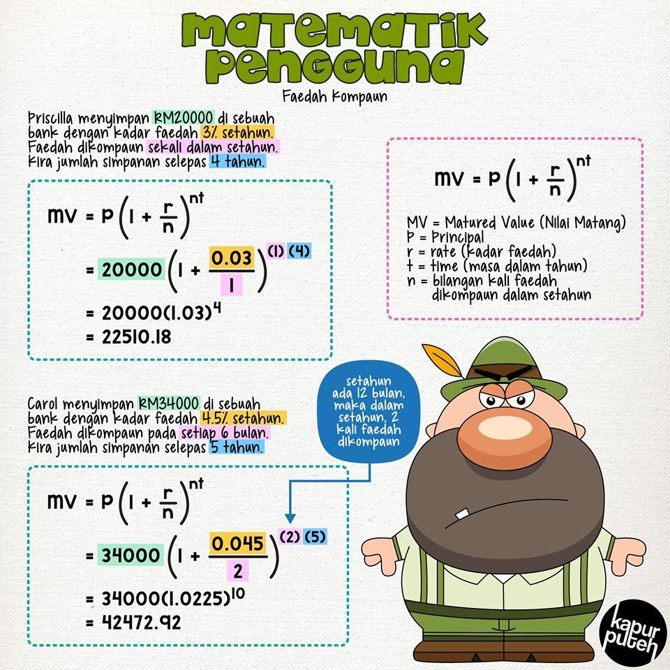 Faedah Kompaun Mathematics Quiz Quizizz