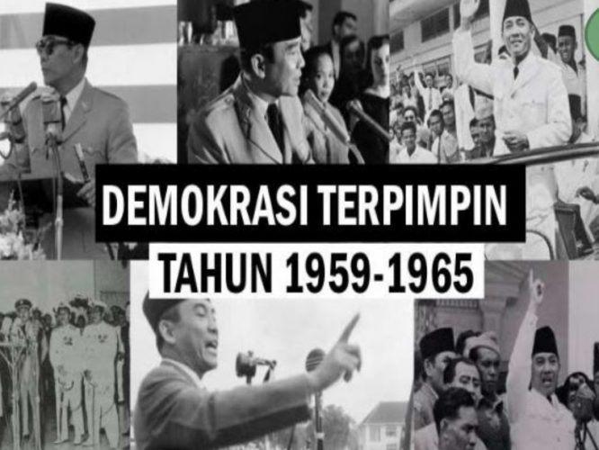 Masa Demokrasi Terpimpin Di Indonesia Quiz Quizizz