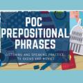 POC Prepositional Phrases