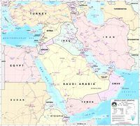 Middle East Map Quiz | Geography Quiz - Quizizz