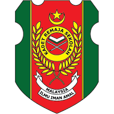 Jahit Logo Kadet Remaja Sekolah Krs Akif Imtiyaz
