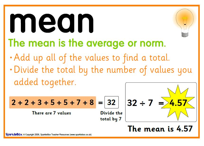Mean | Mathematics Quiz - Quizizz
